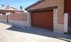 Puerta Garaje Corredera Palazuelo de Órbigo, León